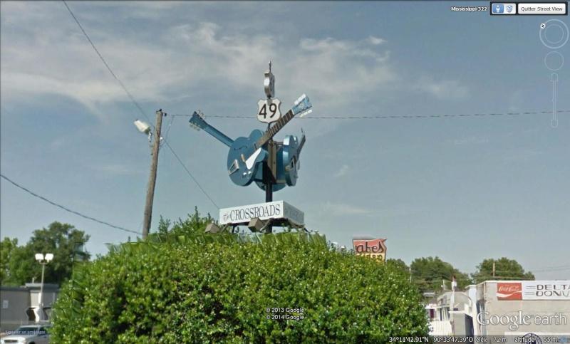 Crossroads 49 61, Clarksdale, Mississipi, berceau du blues. Clarks11
