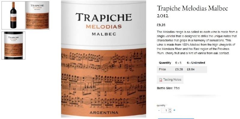 (Argentine) Vins d'Argentine ; le Malbec Malbec10