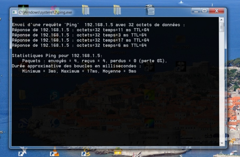 Test ADSL vitesse - Page 2 Ping410