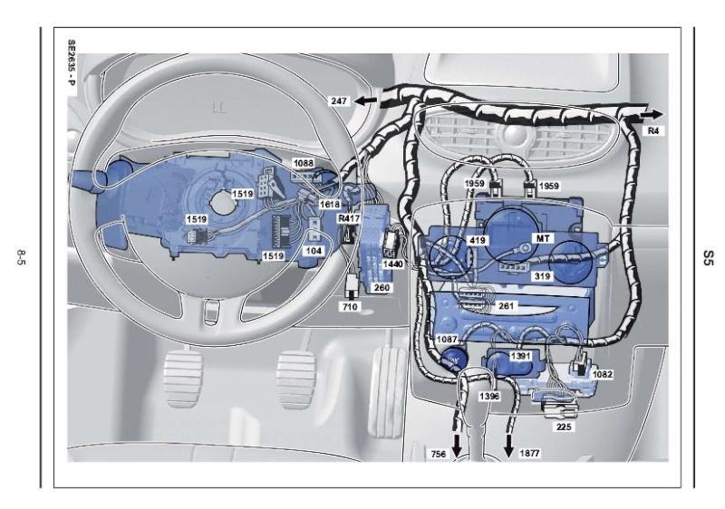 Prise diag cassée sur Renault Clio III de 2009 - Help SVP Faisce10