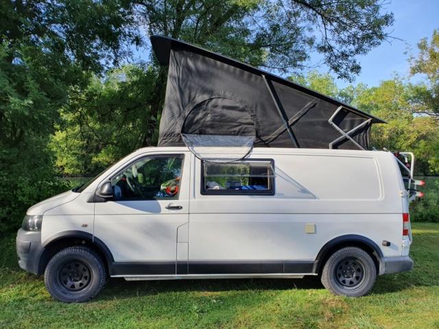 [VENDU] VW T5 Transporter L2H1 140cv 4Motion 239Mkm Toit relevable Blocage de diff prépa 4x4 Seikel 00_t510