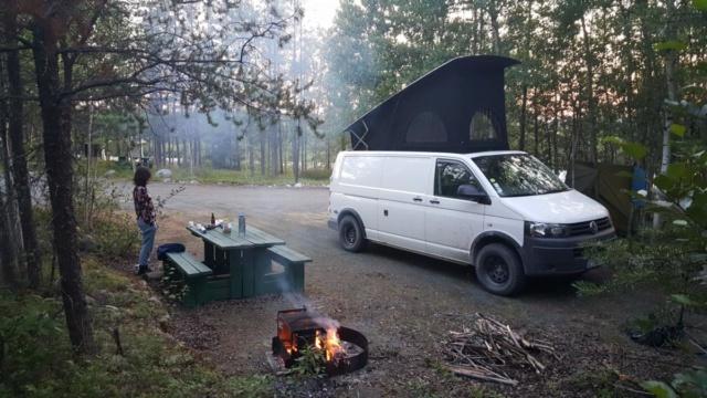 Van aménagé VW T5 L2H1 4MOTION 4x4 de 2011 Van110