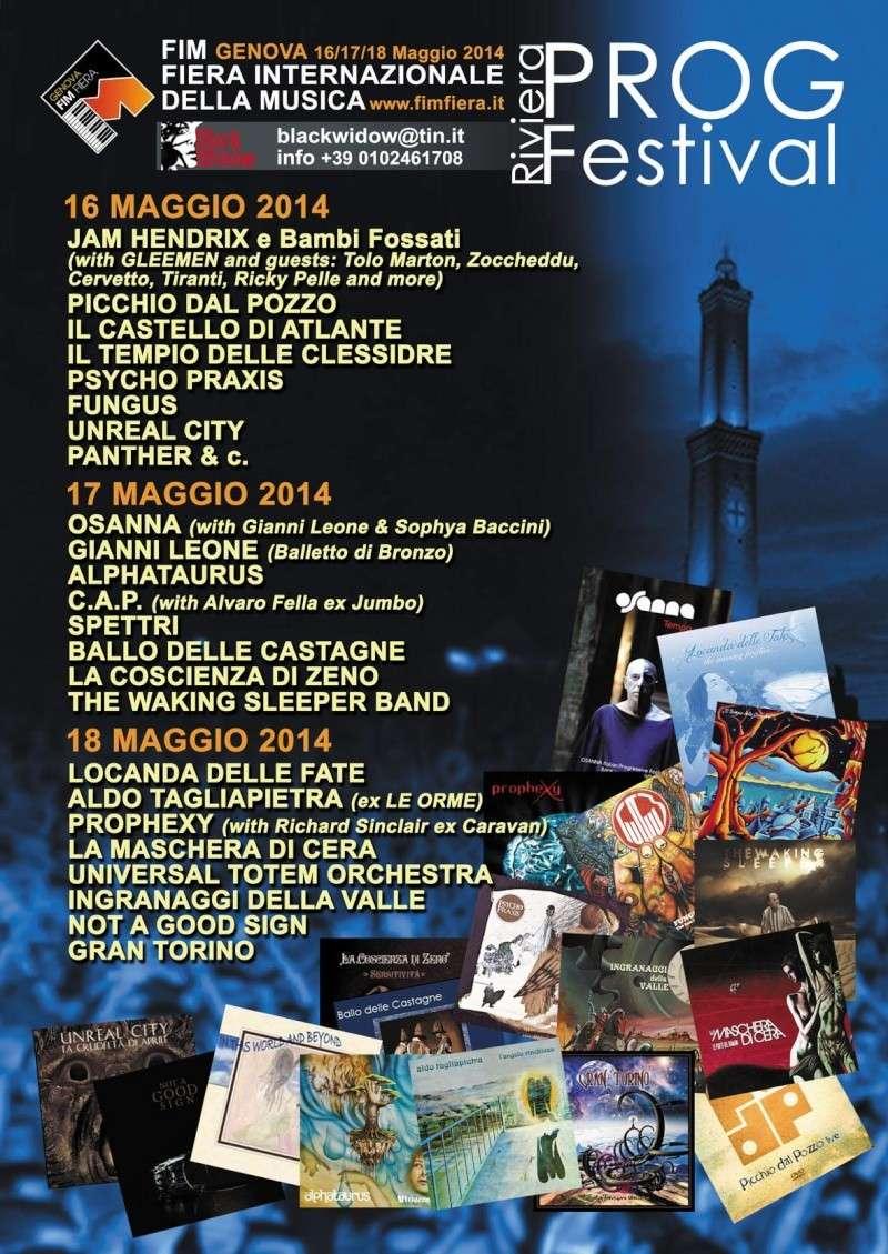 Genova - Riviera Prog Festival - 16/17/18 Maggio 2014 Listen10