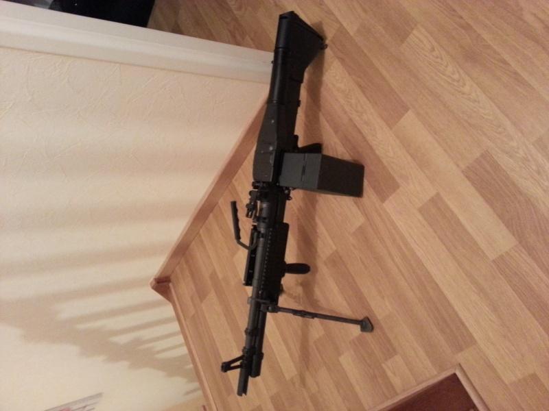 Vend M60 commando ares 20140111