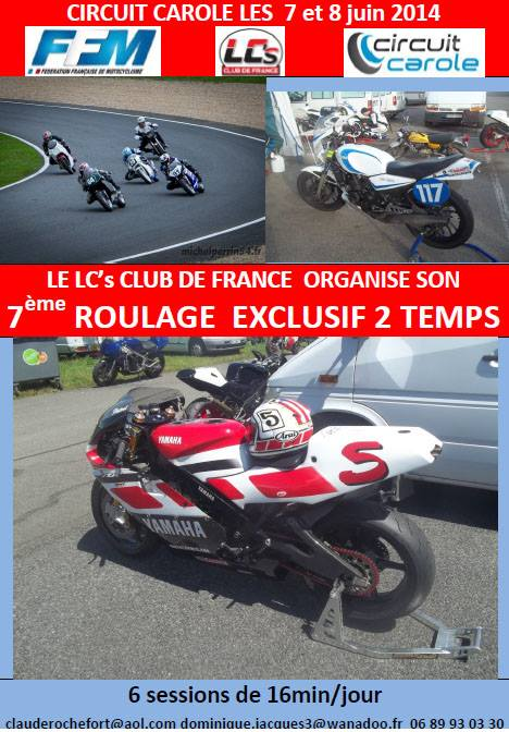 Roulage exclusif 2 temps 15079510