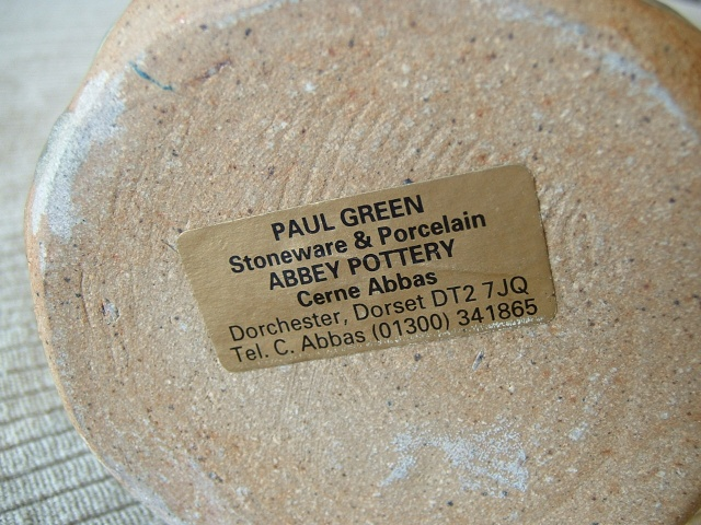 Paul Green, Abbey and West Witton Potteries  Malver26