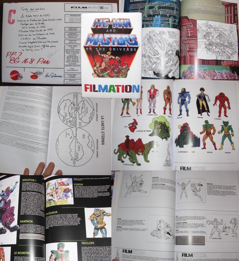 Livre Filmation Bible 82, Guide 82 et Style Guide 83 Livre_10