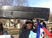 """FANMILAVALAS NEW YORK  et  PHILADELPHIA  """"""""picket lin devant White House 16089310"""