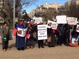 """FANMILAVALAS NEW YORK  et  PHILADELPHIA  """"""""picket lin devant White House Mjj10"""