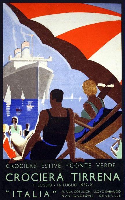 'Conte Verde' - Lloyd Sabaudo - 1923 Nave_c11