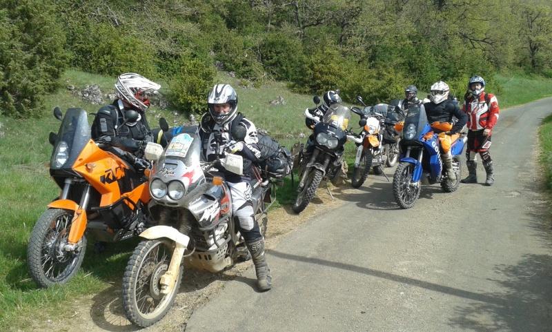 L'Ultimate Offroad Ride 2014 MILLAU-ROSAS(Esp)-COLLIOURE - Page 10 20140523