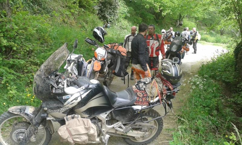 L'Ultimate Offroad Ride 2014 MILLAU-ROSAS(Esp)-COLLIOURE - Page 10 20140534
