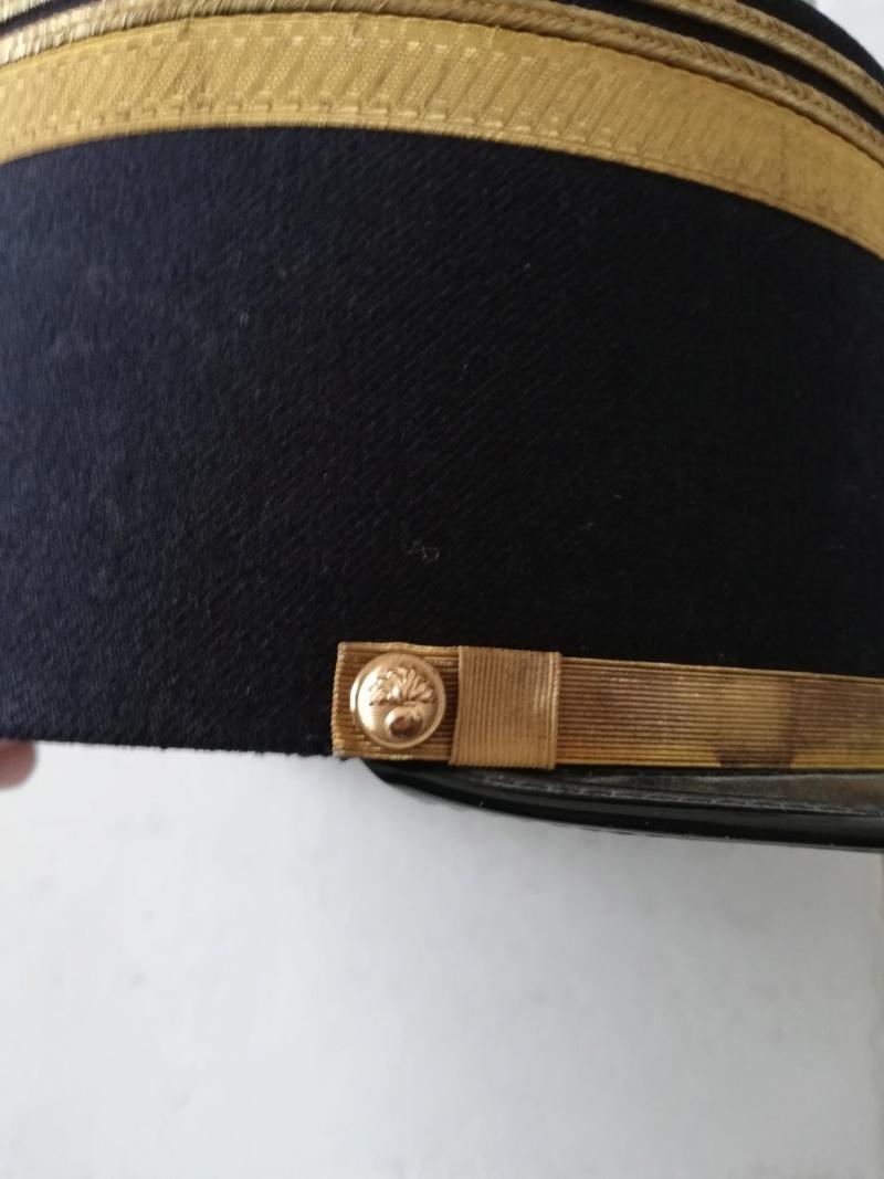 Képi de lieutenant de gendarmerie mobile noir... Img_2011