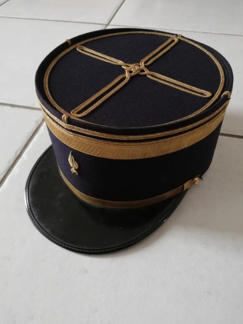 Képi de lieutenant de gendarmerie mobile noir... Img_2012