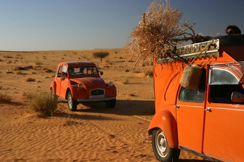 2006 Mauritanie en 4x4 bimoteur 2cv_bi14