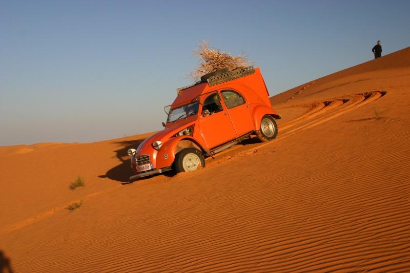 2006 Mauritanie en 4x4 bimoteur 2cv_bi15
