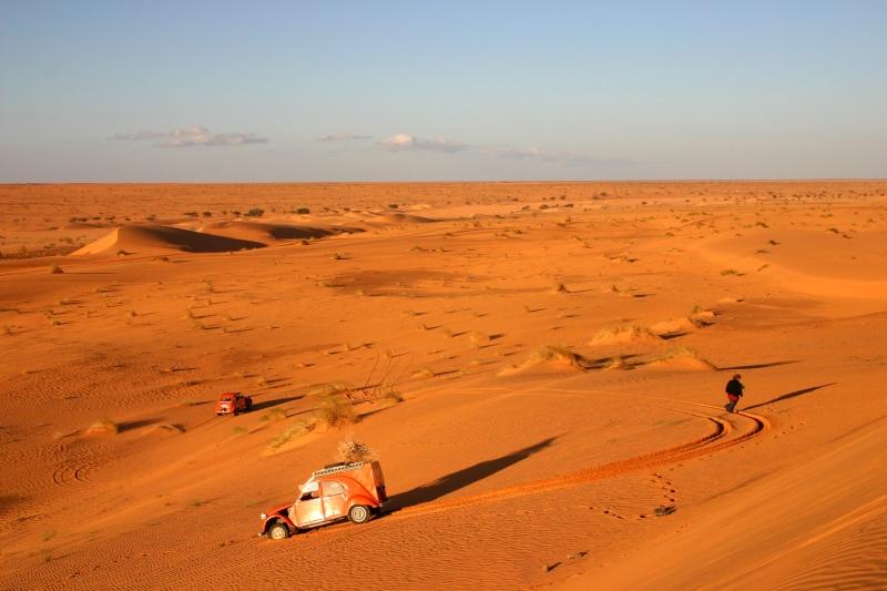 2006 Mauritanie en 4x4 bimoteur 2cv_bi16