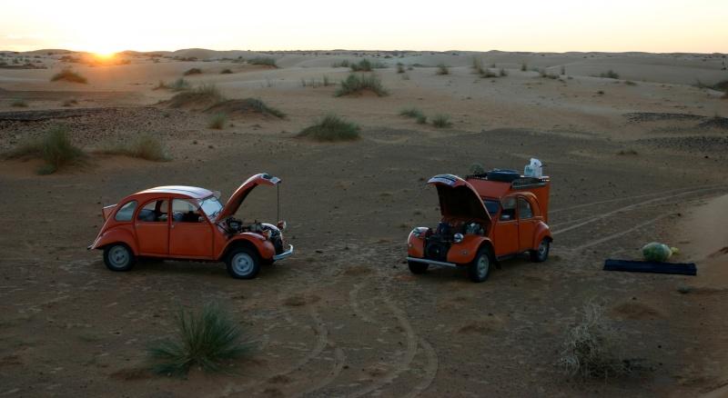 2006 Mauritanie en 4x4 bimoteur 2cv_bi17