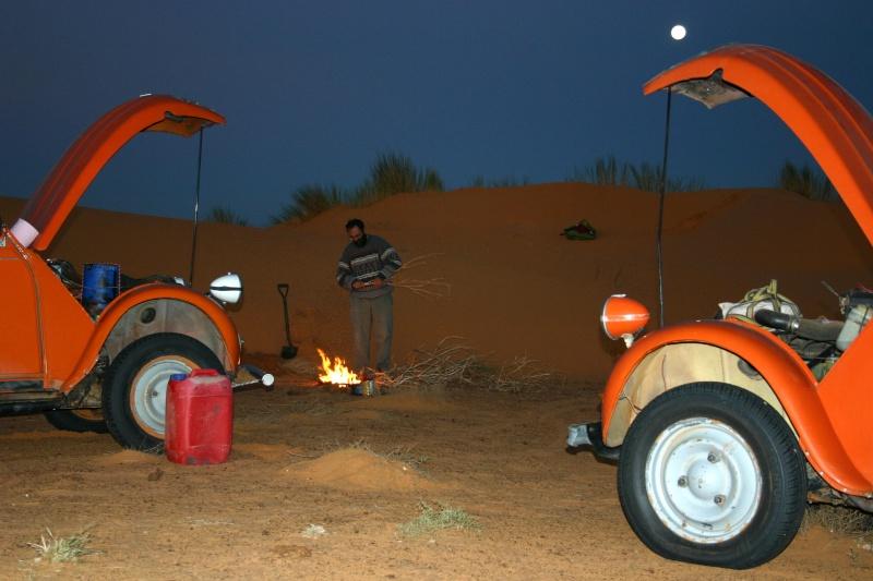 2006 Mauritanie en 4x4 bimoteur 2cv_bi18