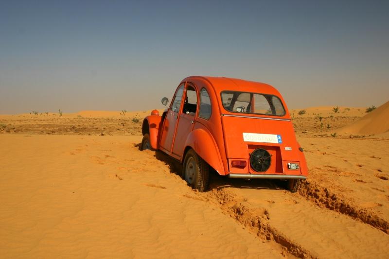2006 Mauritanie en 4x4 bimoteur 2cv_bi24