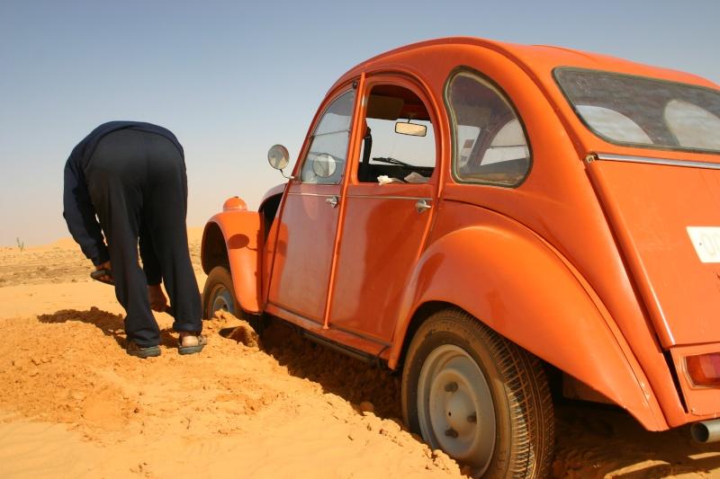 2006 Mauritanie en 4x4 bimoteur 2cv_bi25