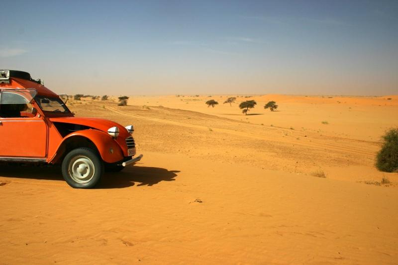 2006 Mauritanie en 4x4 bimoteur 2cv_bi28