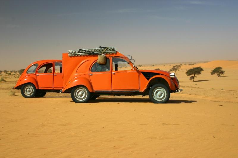 2006 Mauritanie en 4x4 bimoteur 2cv_bi30