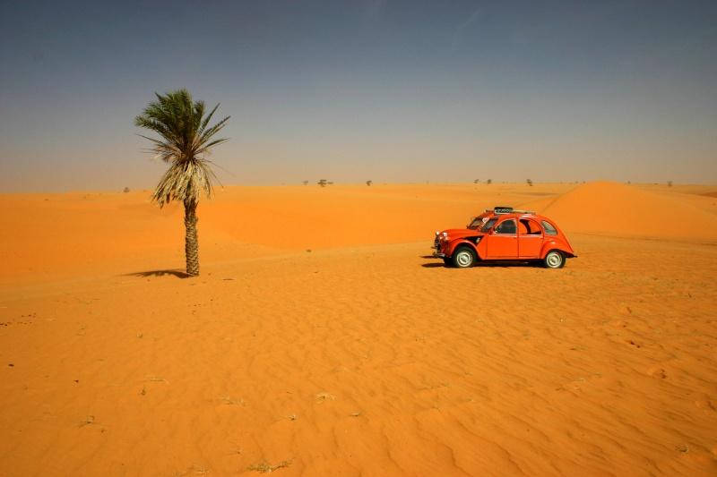 2006 Mauritanie en 4x4 bimoteur 2cv_bi32