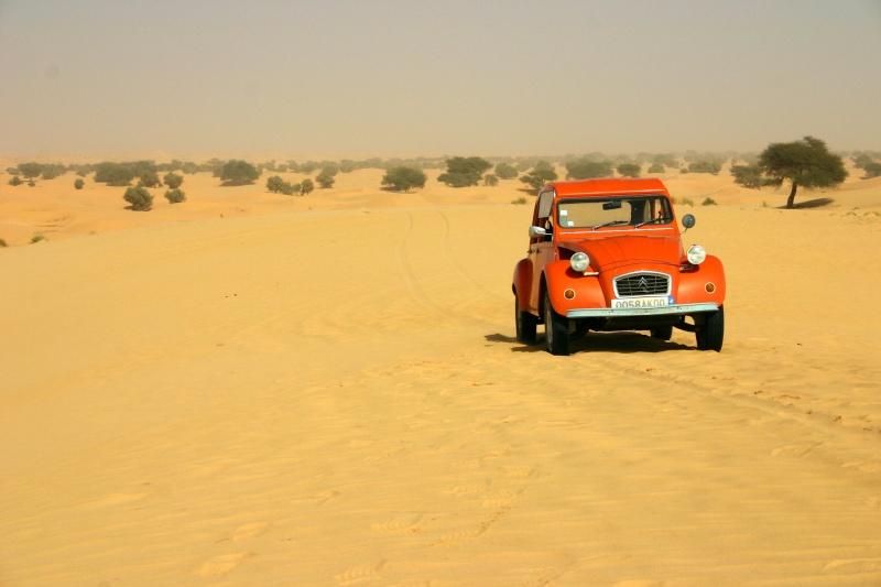 2006 Mauritanie en 4x4 bimoteur 2cv_bi51