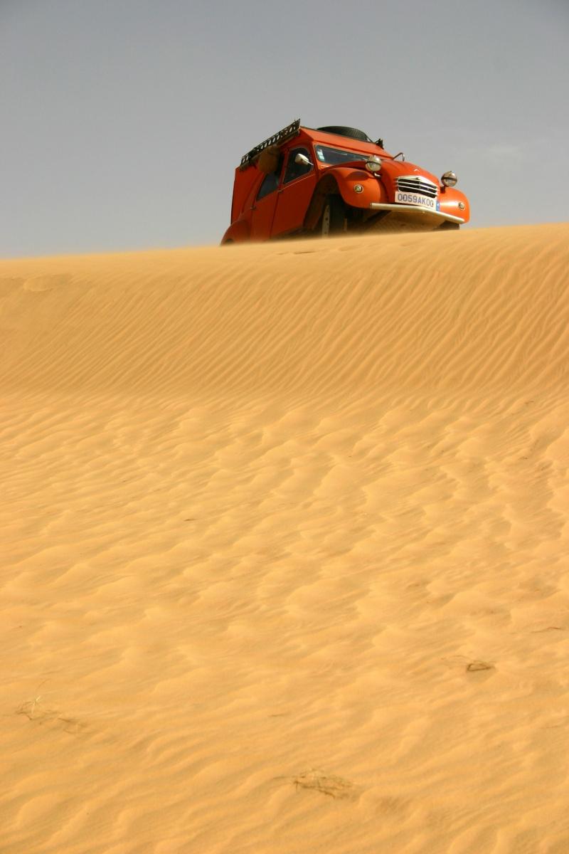 2006 Mauritanie en 4x4 bimoteur 2cv_bi52