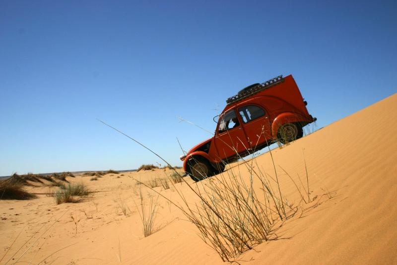 2006 Mauritanie en 4x4 bimoteur 2cv_bi53