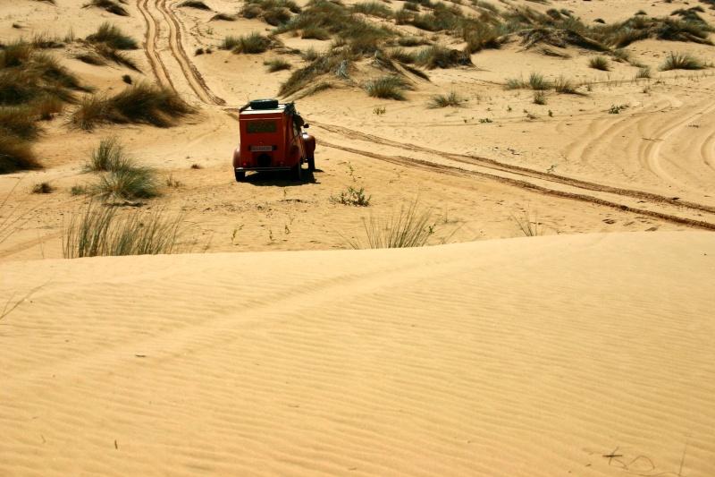 2006 Mauritanie en 4x4 bimoteur 2cv_bi54