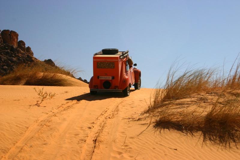 2006 Mauritanie en 4x4 bimoteur 2cv_bi55