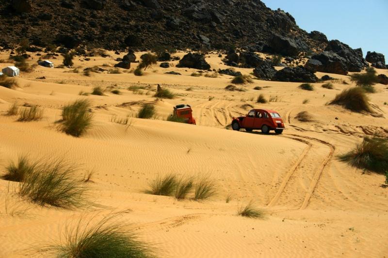 2006 Mauritanie en 4x4 bimoteur 2cv_bi57