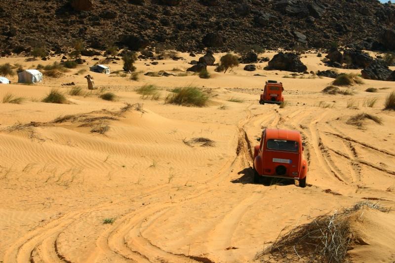 2006 Mauritanie en 4x4 bimoteur 2cv_bi58