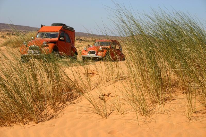 2006 Mauritanie en 4x4 bimoteur 2cv_bi59