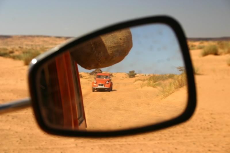 2006 Mauritanie en 4x4 bimoteur 2cv_bi60