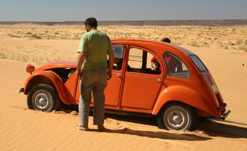 2006 Mauritanie en 4x4 bimoteur 2cv_bi61