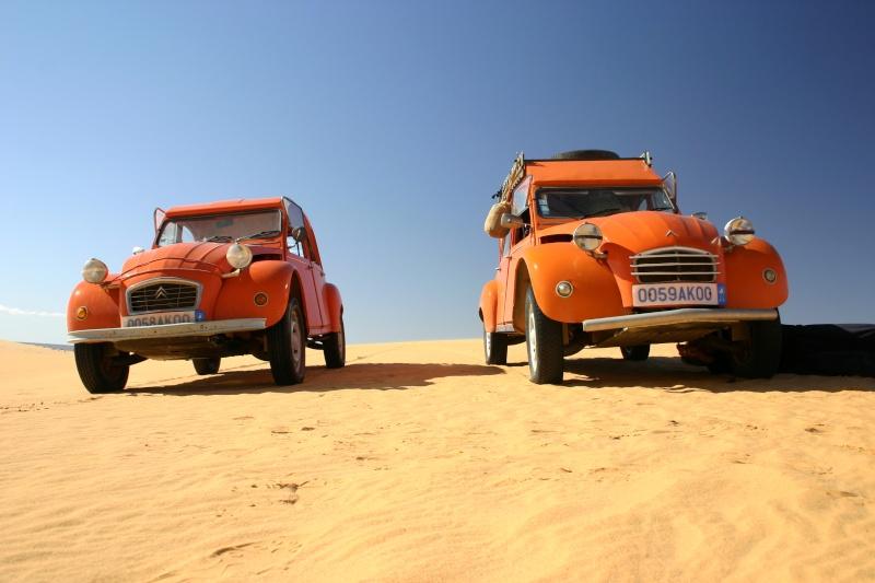 2006 Mauritanie en 4x4 bimoteur 2cv_bi64
