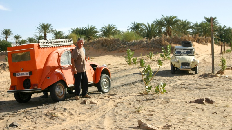 2006 Mauritanie en 4x4 bimoteur Christ10