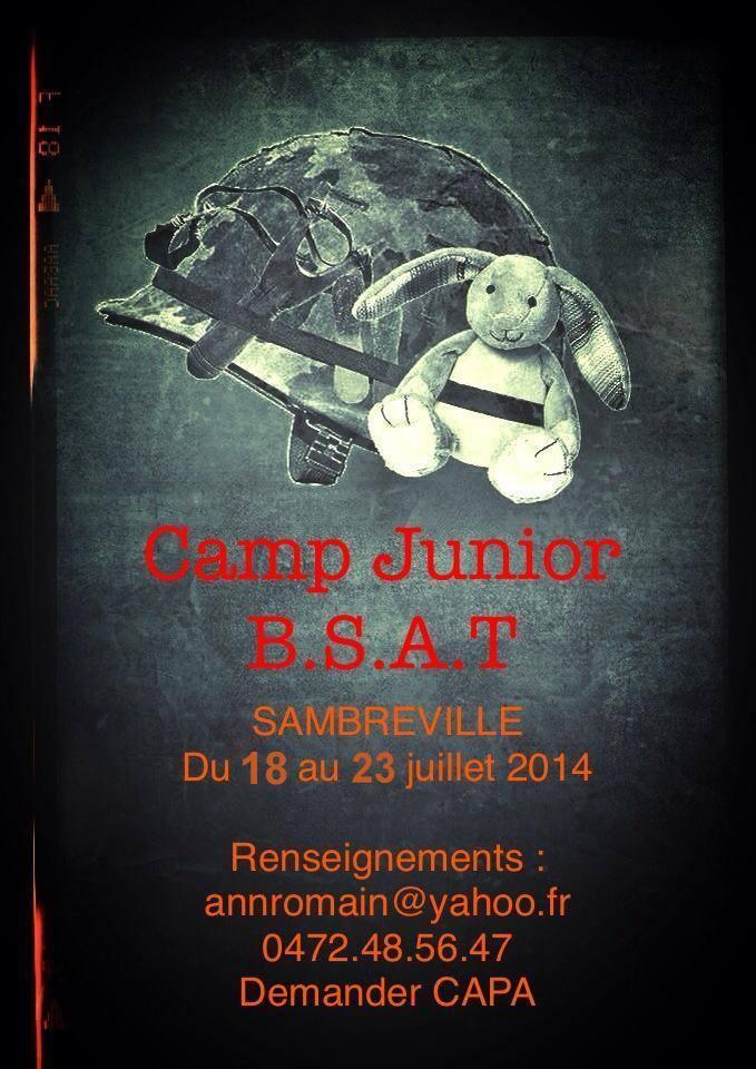 Camp JUNIOR  -  Du 18 au 23 JUILLET 2014 !!! 17986110