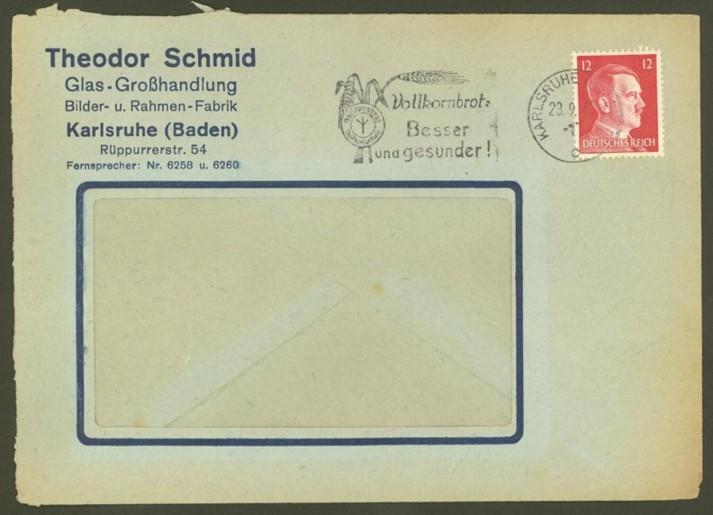 Reizvolle Briefe des Deutschen Reichs 00210