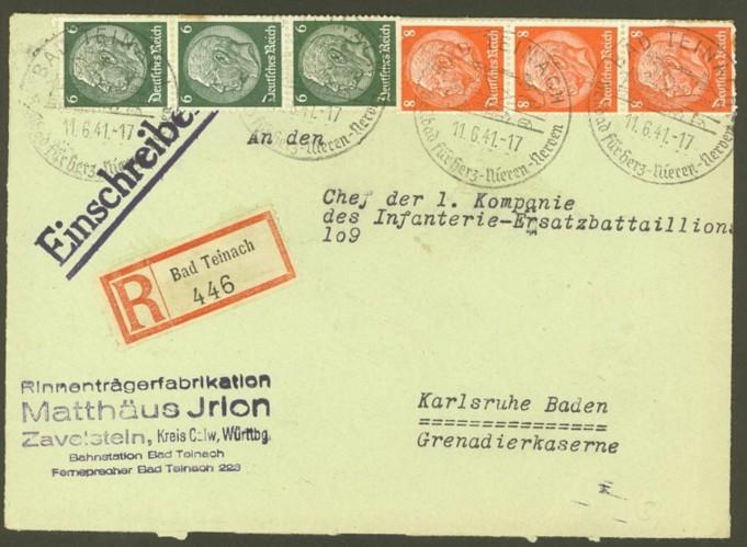 Reizvolle Briefe des Deutschen Reichs 516_5110