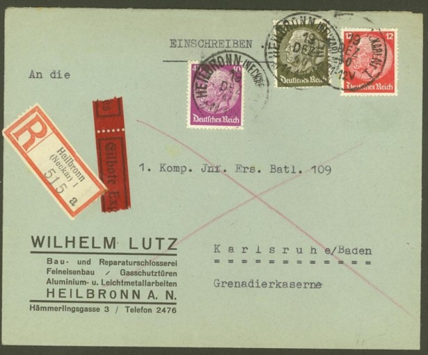 Reizvolle Briefe des Deutschen Reichs 519_5210