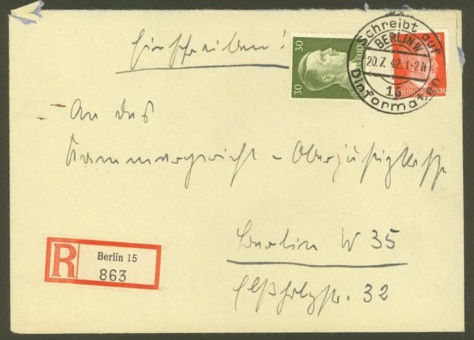Reizvolle Briefe des Deutschen Reichs 786_7910