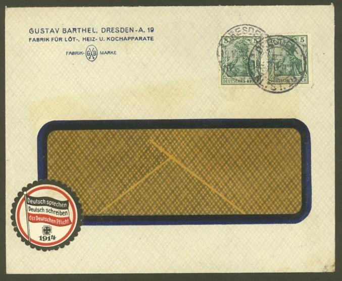 Reizvolle Briefe des Deutschen Reichs 85_i10
