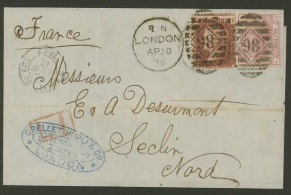 Großbritannien   -   Briefe Gb_112