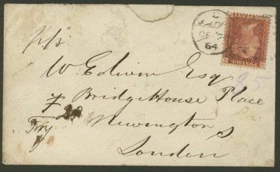 Großbritannien   -   Briefe Gb_3_v10