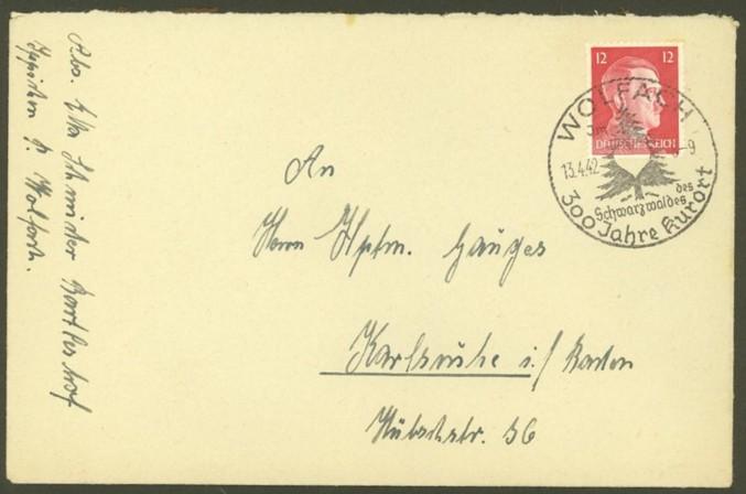 Reizvolle Briefe des Deutschen Reichs Wolfac11
