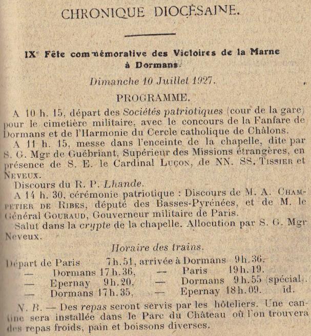 Chapelle-Mémorial des Batailles de la Marne 23-08-10